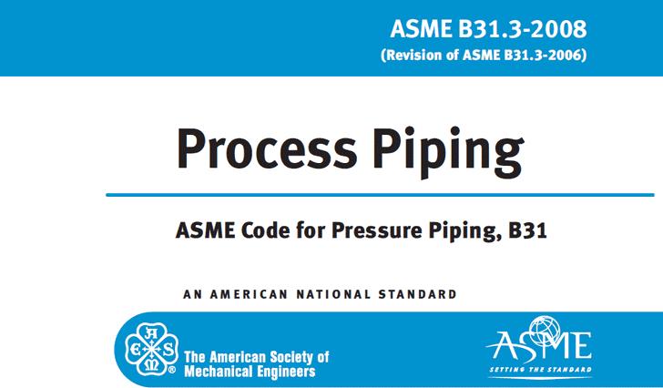 سمینار آموزش کد پایپینگ ASME B31.3