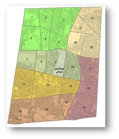 بررسی محله عودلاجان (منطقه 12 تهران)